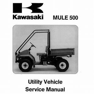 3010 Kawasaki Mule Parts Manual