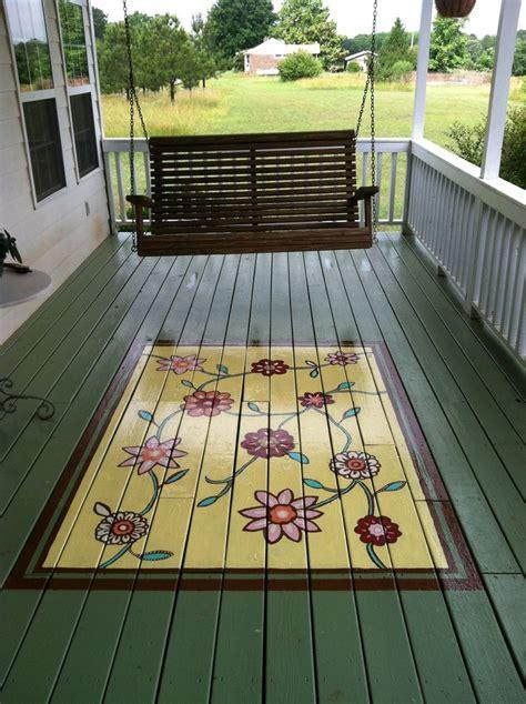 painted porch floors ideas  pinterest