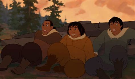 The Good, The Bad, And The Ugly In Brother Bear  The Red