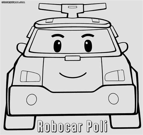 Kleurplaat Poli by Robocar Poli Coloring Sheet Printable