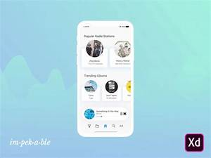 Concept Music App by impekable | Dribbble | Dribbble