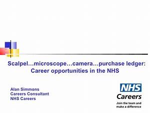 nhs careers powerpoint presentation With nhs powerpoint template