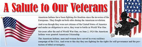 honoring native american indian veterans community jobs