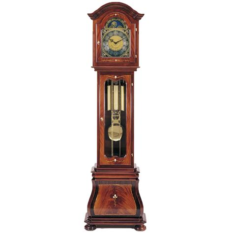 leonardo walnut grandfather clock grandfather clocks cookes furniture