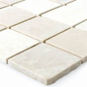 Mosaik Fliesen Beige : naturstein mosaik fliesen travertin beige br88516 ~ Michelbontemps.com Haus und Dekorationen
