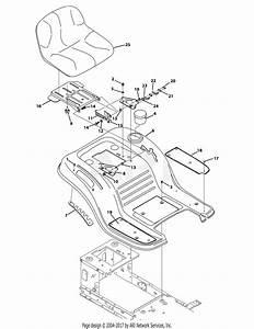 Troy Bilt 13yx79kt211 Horse Xp  2014  Parts Diagram For