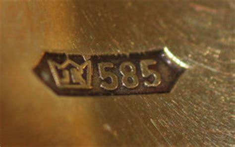 585er Gold  14k Goldlegierung  585er Goldschmuck Preis