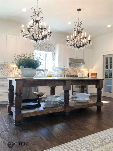 Kitchen Island With Open Storage by 11 Cool Diy Kitchen Islands In Various Styles Shelterness