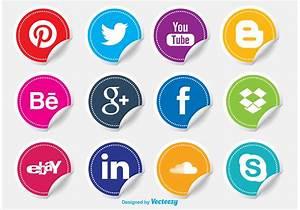 Social Media Icon Stickers