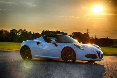2016 Alfa Romeo 4c Spider  Unfiltered Driving At Its Best