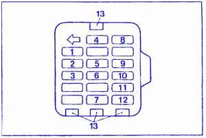 Bayliner Capri 2003 Fuse Box  Block Circuit Breaker Diagram