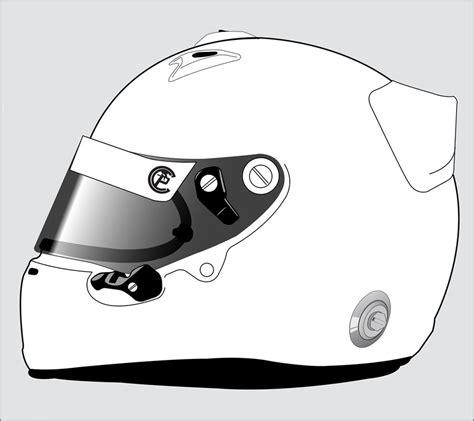 helmet template templates custom paint