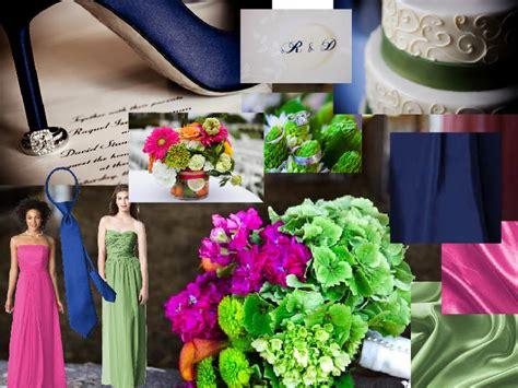 Pantone Wedding Styleboard