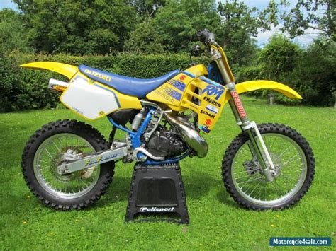 evo motocross bikes 1989 suzuki rm250 for sale in united kingdom