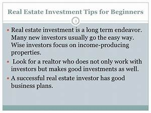 Investing in Real Estate 101