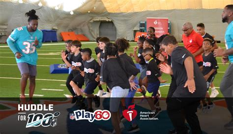 NFL PLAY 60: Huddle Up & Get Moving! Virtual Field Trip ...