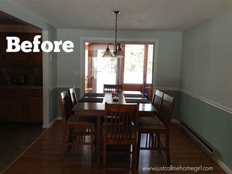 raised ranch dining room reveal  call  homegirl