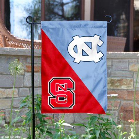 house divided garden flag unc vs nc state your house