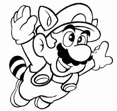 Coloring Pages Super Mario Maker Bros Printable