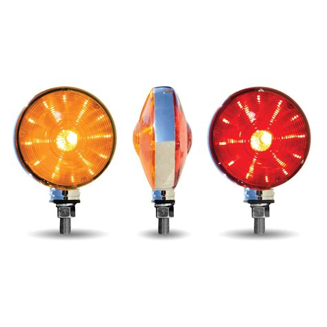 ol skul double face combination led amber red