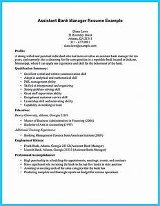 Leave Letter To Manager Sample Starting Successful Career From A Great Bank Manager Resume