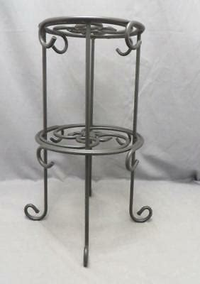 longaberger black wrought iron coffee cup mugplate tree  tier rack stand ebay