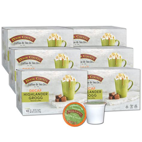 Use the coupons before they're expired for the year 2020. Door County Coffee Highlander Grogg Decaf Flavored Coffee Single Serve Cups - 60 Count - Walmart.com