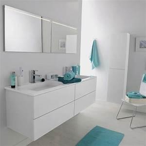 armoire salle de bain leroy merlin With organisation salle de bain
