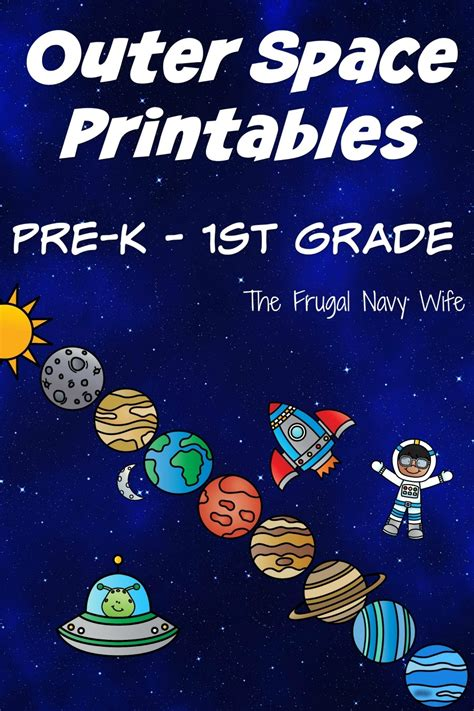 solar system outer space unit science math literacy fun