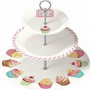 Retro Treats 3 Tier Cake Stand A Gift Basket from Heaven