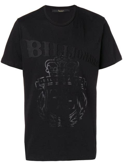 Tshirt Billionare Bdc billionaire logo t shirt in black for lyst
