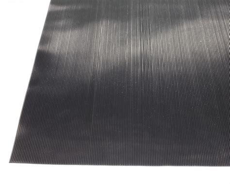 fine rib rubber edgewood matting