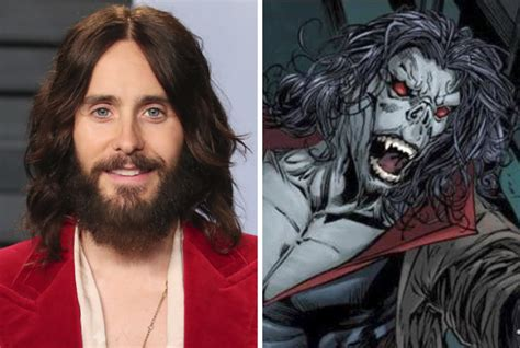 Jared Leto Star Spider Man Spinoff Morbius Marvel