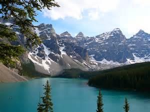 Valley Ten Peaks Alberta Canada