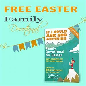 Free Easter Family Devotional Awesome Bible Answers for