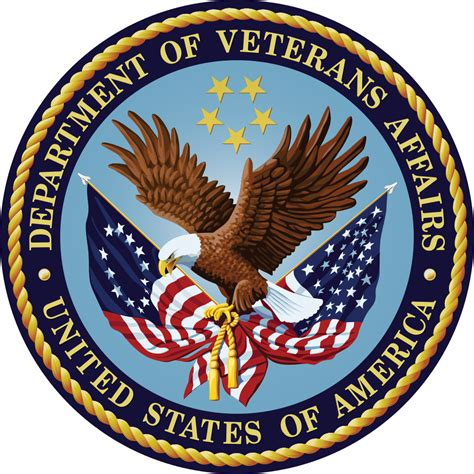 us bureau of file seal of the u s department of veterans affairs svg