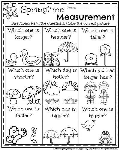 Kindergarten Worksheets For May  Homeschool  Pinterest  Math Worksheets, Worksheets And