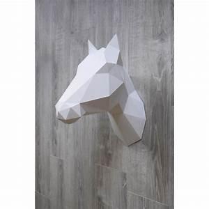 Trophée Mural Peluche : troph e mural design cheval ou licorne en origami ~ Teatrodelosmanantiales.com Idées de Décoration