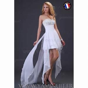 Robe Courte Mariée : robe de mariee originale longue et courte ~ Melissatoandfro.com Idées de Décoration