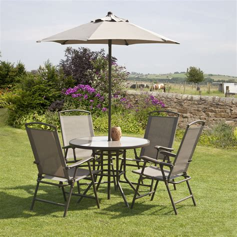 gardens and homes direct suntime mocha 4 seat 90cm