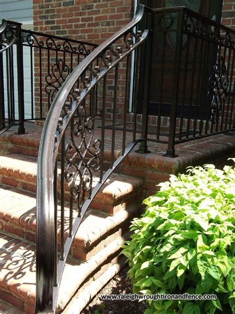 Outdoor Banister Railing by Best 20 Wrought Iron Railings Ideas On Iron