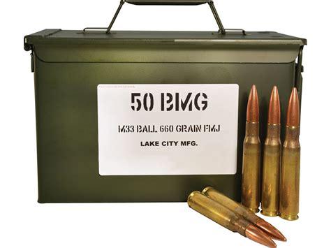 Military Surplus 50 Bmg 660 Grain M33 Full Metal Jacket