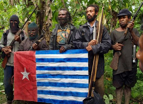 Indonesia East Papua 1300 Inhabitants Hostage To The Opm Separatists