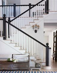 Black Painted Handrail