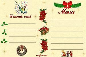 Modele De Menu A Imprimer Gratuit : les cartes de menu des f tes chez les 3 colombes ~ Melissatoandfro.com Idées de Décoration