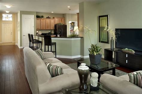 small space traditional living room with breakfast bar