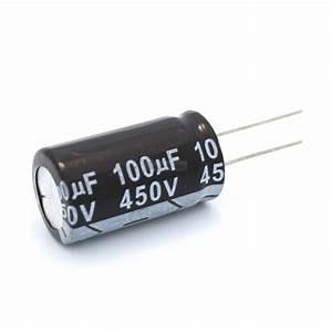 1 29 - 100uf 450v Electrolytic Capacitor