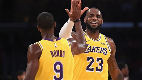Once rivals, LeBron and Rondo are on brink of getting ...