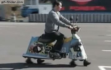 Share the best gifs now >>>. Walking scooter | Gif Finder - Find and Share funny animated gifs | Funny gif, Good humor man ...