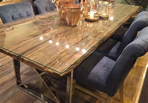 Esstisch Holz Glas by Luxe Kensington Reclaimed Wood Dining Table Design